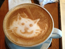 Exception to the rule. Didn't make this one, but it is the best latte art I had all year.