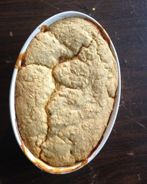 Tomato cobbler: Mark Bittman recipe