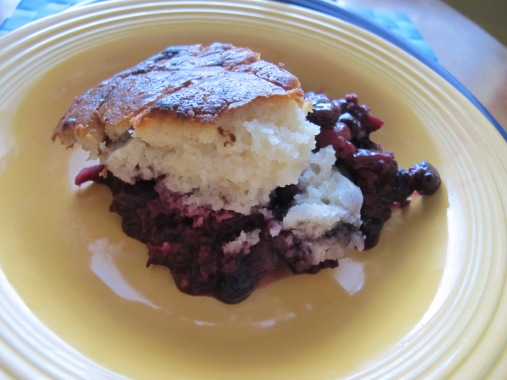 Berry cobbler: a favourite summer dessert