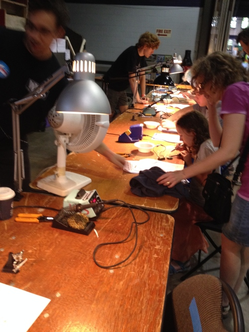 Learn to solder stations...